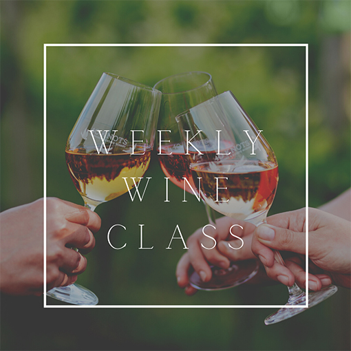 40 Knots Winery, Weekly Wine Class