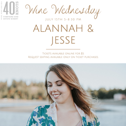 Wine Wednesday with Alannah & Jesse