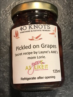 Pickled on Grapes 250ml