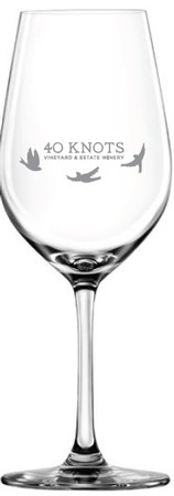40 Knots Wine Glass