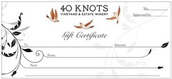 40 Knots Gift Card $250