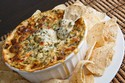 Cheesy Spinach and Wine Dip
